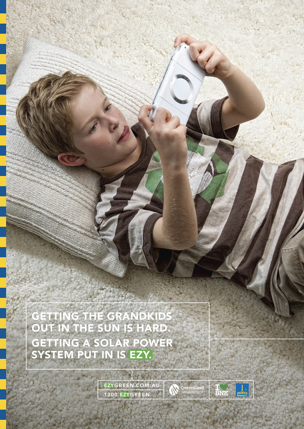 image of AARONTAIT COPYRIGHTED 2014 116 KID ON COMPUTER GAME ADVERTISING